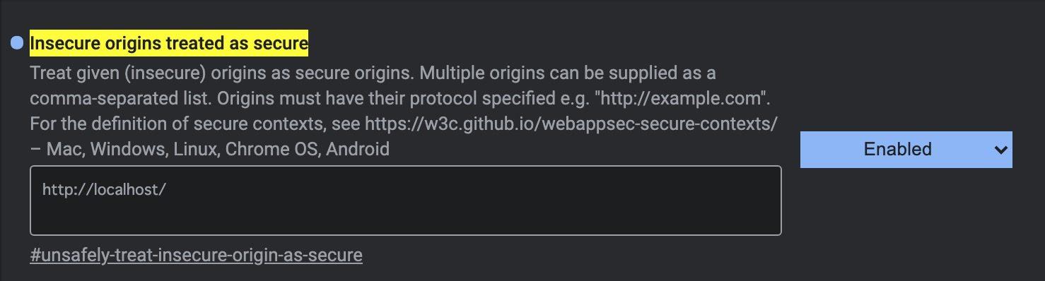 ローカル環境のJavaScriptでnavigator.getUserMediaが動かないときの解決法